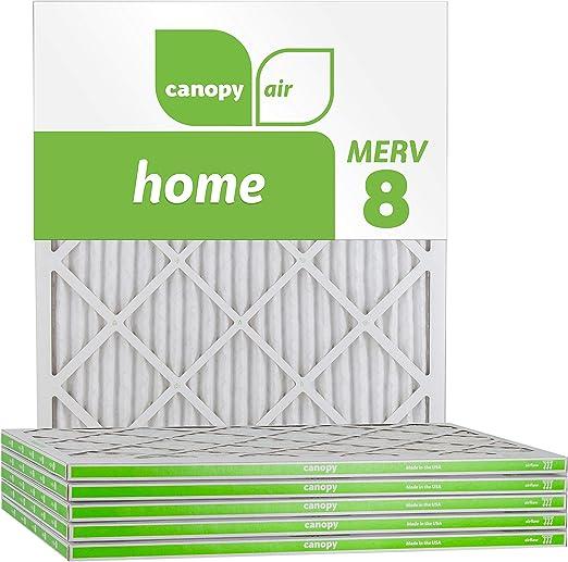 AF MERV 11 Pleated AC Furnace Air Filter. 4pk 20 x 20 x 2