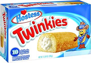 product image for Hostess Twinkies 10 ct Sponge Cake with Creamy Filling 13.5 oz