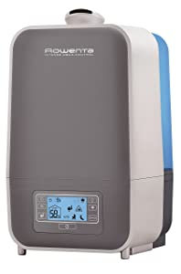 Rowenta HU5120 Intense Aqua Control Whole Room Mist Humidifier Ultrasonic Technology with Unique Baby Mode, 1.5-Gal, Bronze