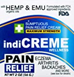 IndiCreme Pain Relief Cream with Hemp Seed Oil