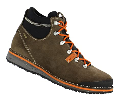 AKU Badia GTX Scarpe tempo libero brown orange  Amazon.it  Sport e ... fefaea0db0f