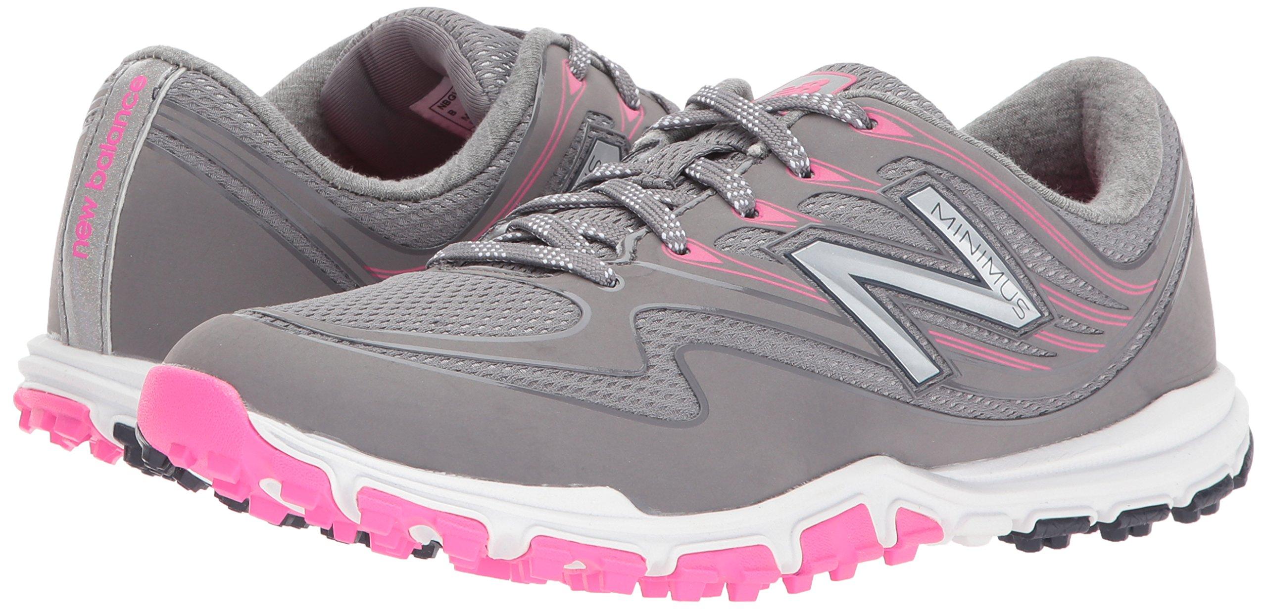 New Balance Women's Minimus Sport Golf Shoe, Pink/Grey, 7.5 B B US by New Balance (Image #6)