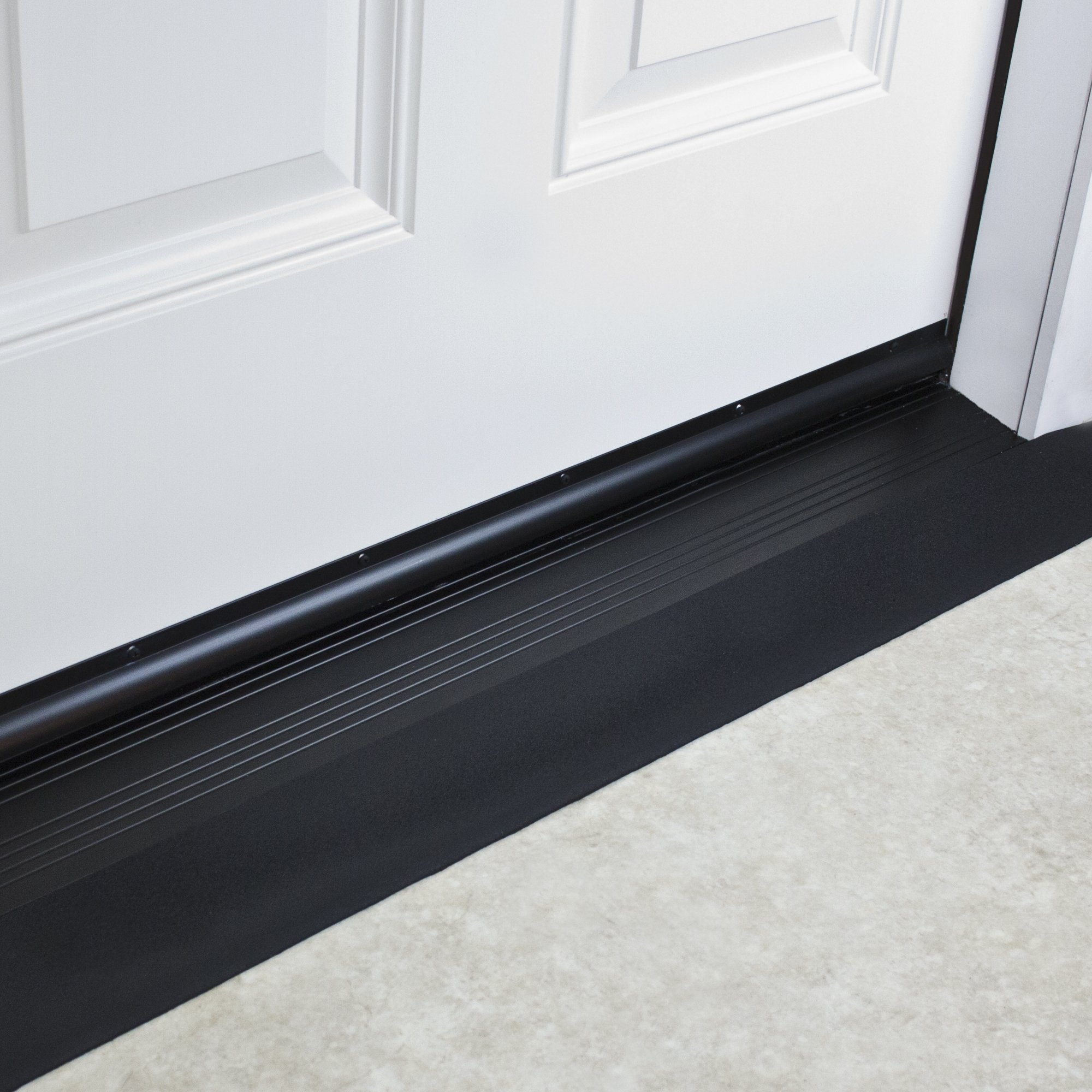 SafePath Products RAEZ0010 EZEdge 1/2'' Thick x 42'' Wide x 3.5'' Transition/Threshold Ramp by SafePath Products