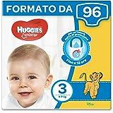 Huggies Unistar Pannolini, Taglia 3 (4-8 kg), 2 Confezioni da 48 [96 Pannolini]