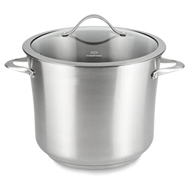 Calphalon Contemporary Stainless Steel Cookware, Stock Pot, 12-quart