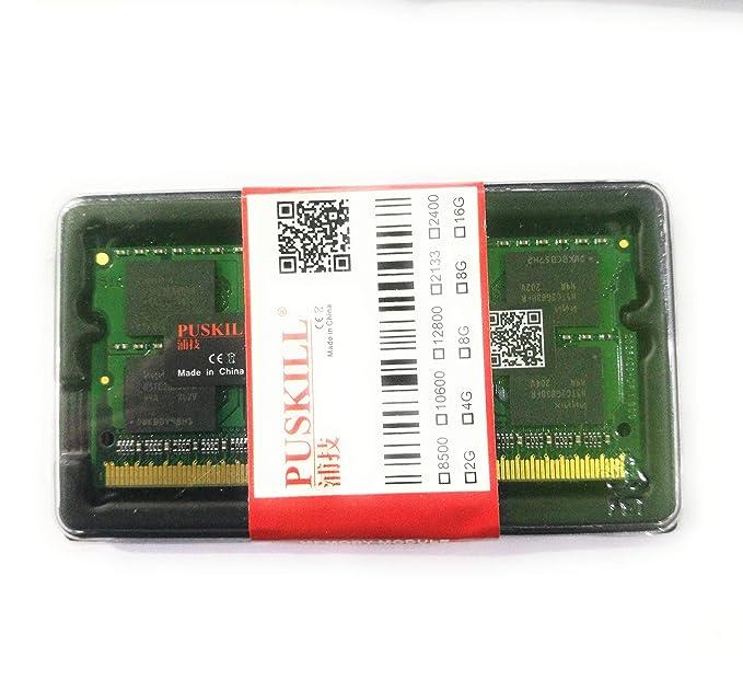 Hynix 4GB DDR3 RAM PC3-10600 204-Pin Laptop SODIMM Memory at amazon