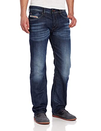 2598c9f2 Amazon.com: Diesel Men's Waykee Regular Straight-Leg Jean 0806U ...