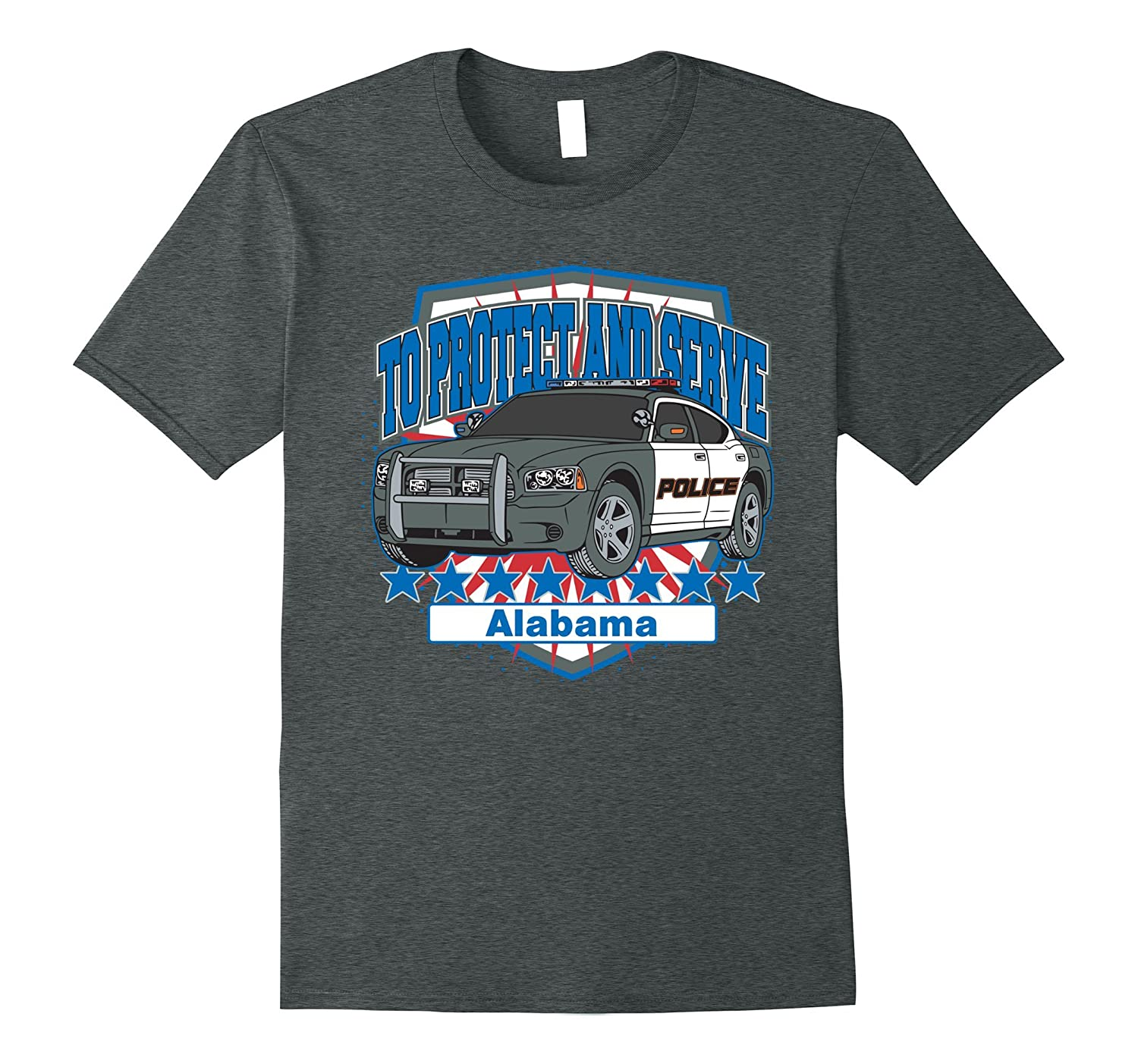 Alabama Police Car To Protect and Serve T-Shirt