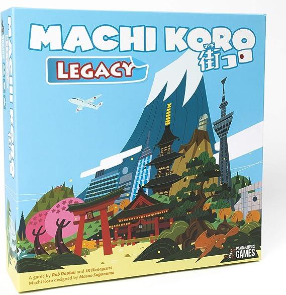 Pandasaurus Games Machi Koro Legacy - Juego de Mesa [Inglés ...