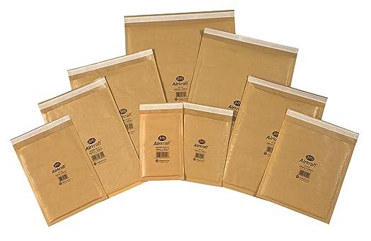 10 x JIFFY JL1 PADDED DVD CD BAGS ENVELOPES 170x245mm: Amazon.co ...