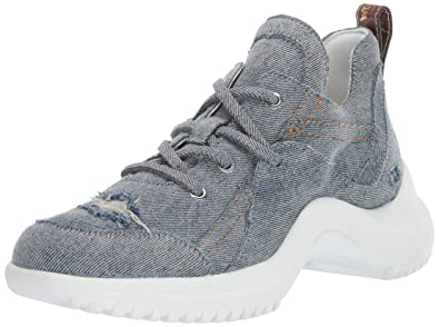 cd804bb02241 Sam Edelman Women s Meena 3 Sneaker Light Blue Denim 5 ...