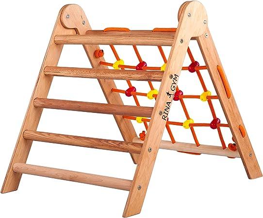 RINAGYM Step Triangle, Escalera de Escalada para niños ...