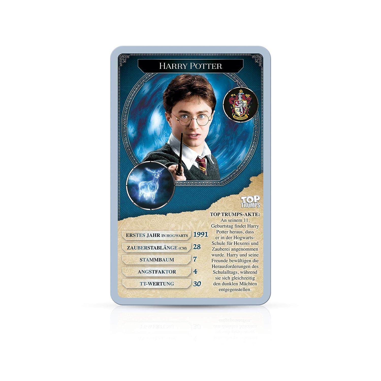Winning Top Top Trumps Harry Potter 30 Hexen Und Zauberer Quartett Spielkarten Moderne Kartenspiele