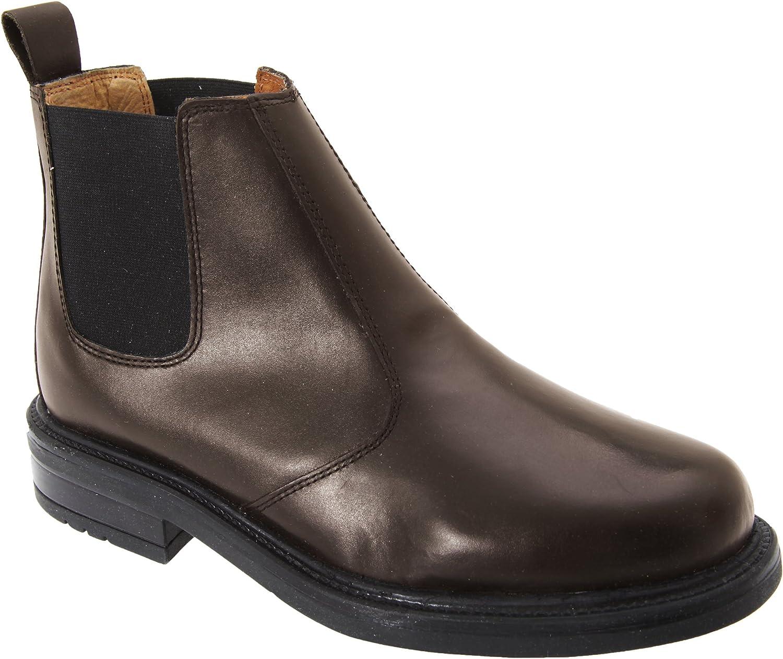 Roamers - Botas de piel para hombre