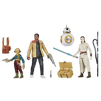Star Wars: The Force Awakens, Takodana Encounter 3.75 Inch Action Figure Set [Maz Kanata, Finn, Rey, and BB-8]: Toys & Games