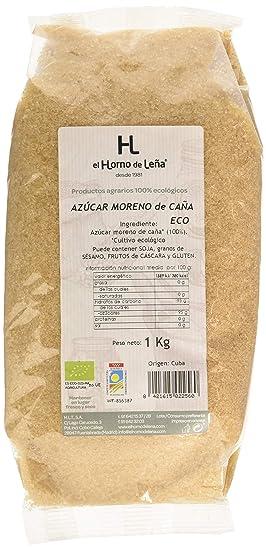 Horno de Leña Azúcar Moreno de Caña Eco, 1000g, Pack de 1: Amazon ...