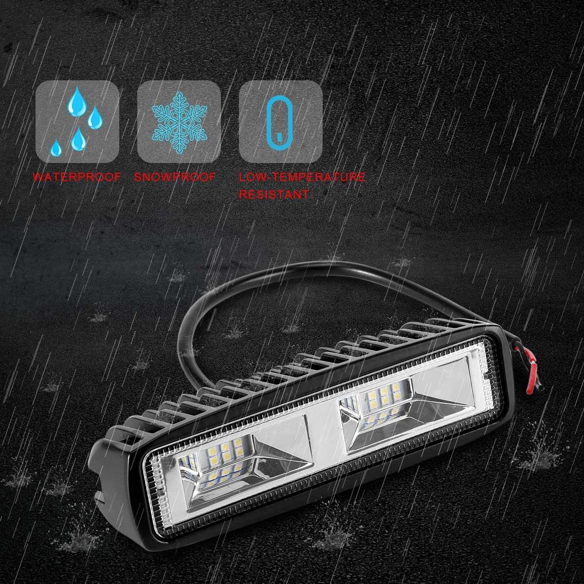 KAWELL® LED Arbeits Licht Bar, 18W Offroad Fahren Lauf ...