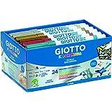 Giotto Decor Marqueurs décoratifs multi-surfaces encre à base d'eau 24 feutres