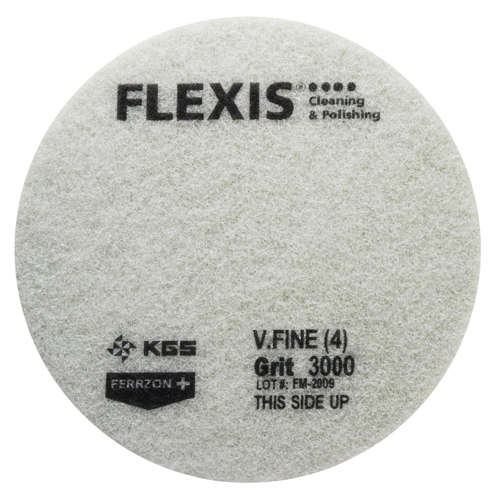 FLEXIS KGS Floor Cleaning & polishing Pads 17 inch, grit 3000 - Green (2 Pack) by KGS (Image #2)