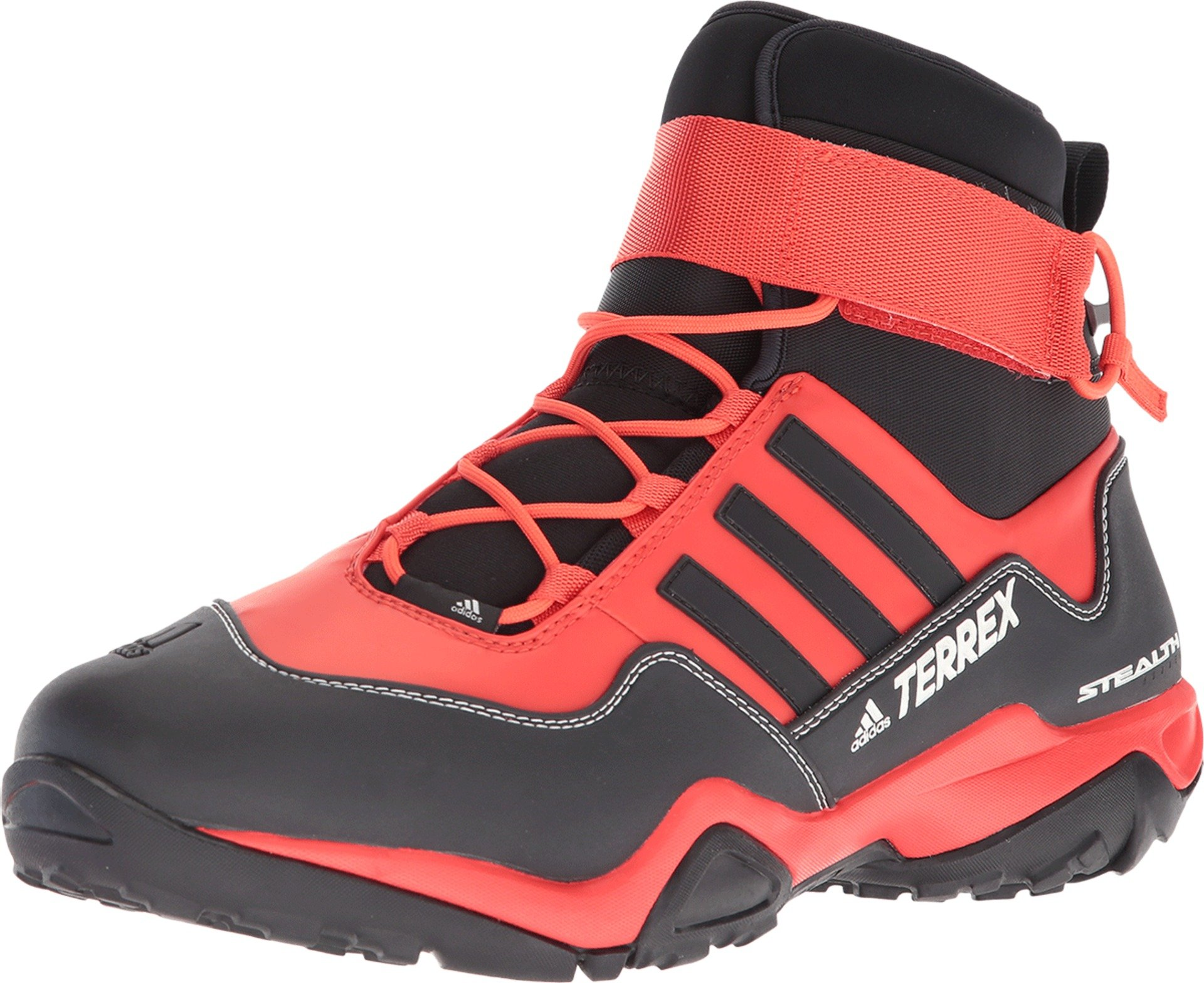 adidas outdoor Terrex Hydro_Lace Mens Water Shoes, (Hi-Res Red, Black, Chalk White), Size 10 by adidas outdoor