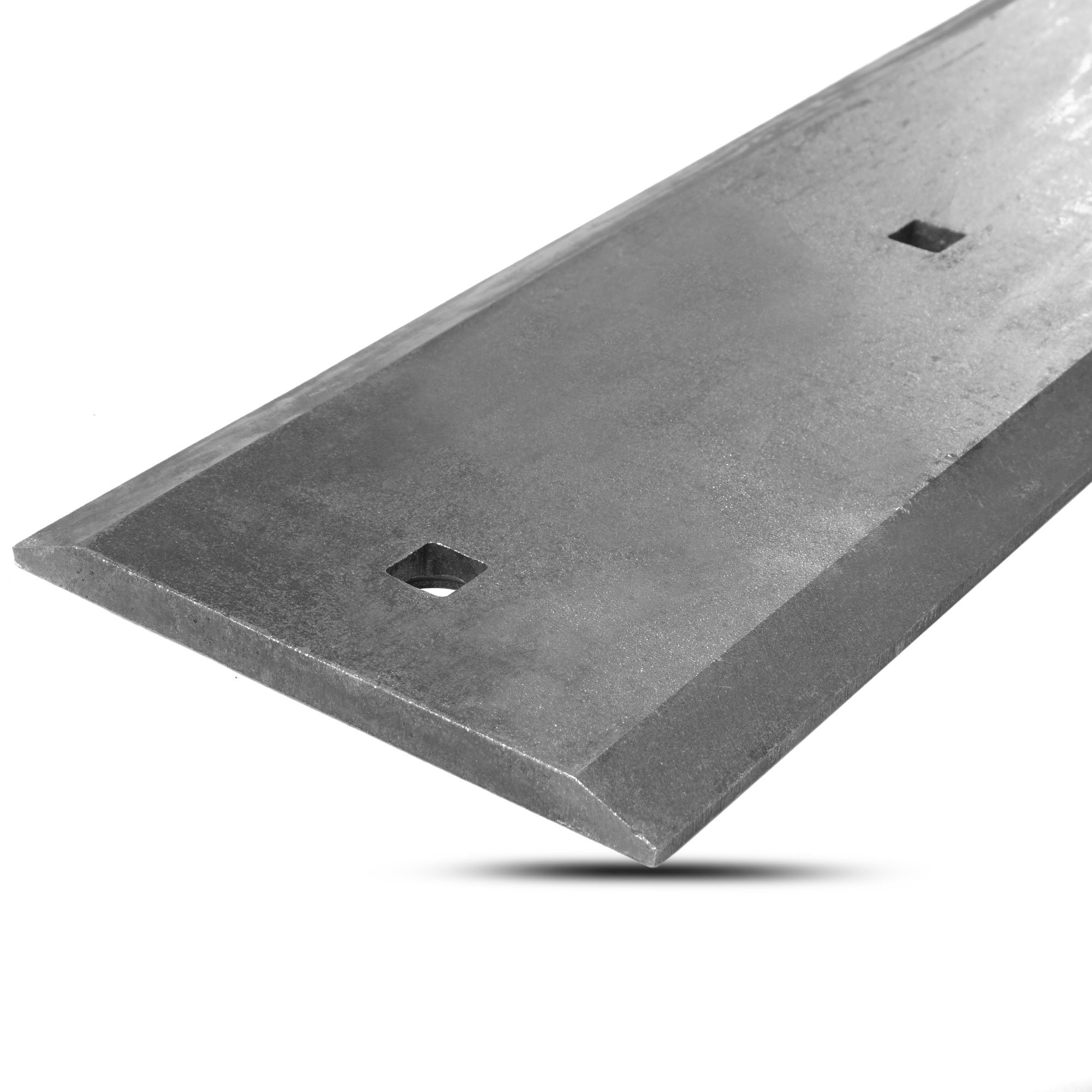 Titan 74'' Reversible Bucket Double Cutting Edge Hardened 1055 Carbon Steel 5/8'' Skidsteer Tractor Loader Blade Scraper by Titan Attachments