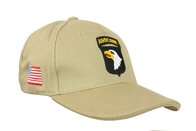 619a2db4d7dd2 Image Unavailable. Image not available for. Color  Epic Khaki US 101st  Airborne Baseball Cap