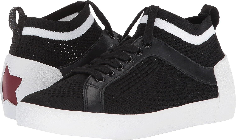 Ash Women's AS-Nolita Sneaker B079P4LTWJ 36 M EU|Black/White/Black Knit/Nappa Calf