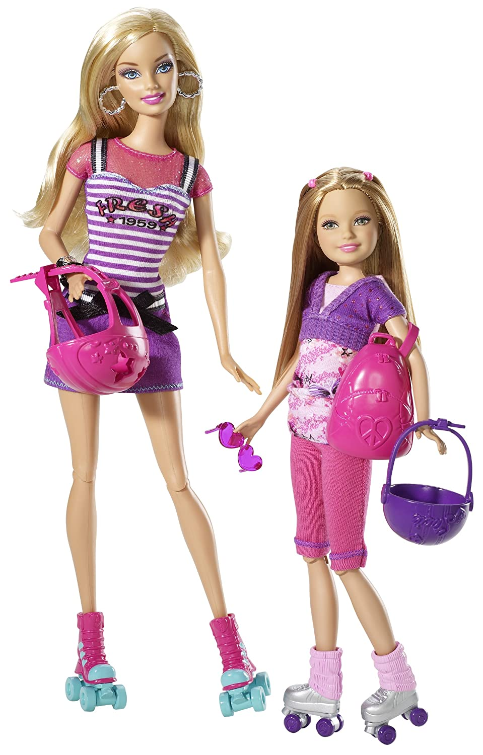 Best Barbie Dolls And Toys : Barbie sisters and stacie dolls pack top