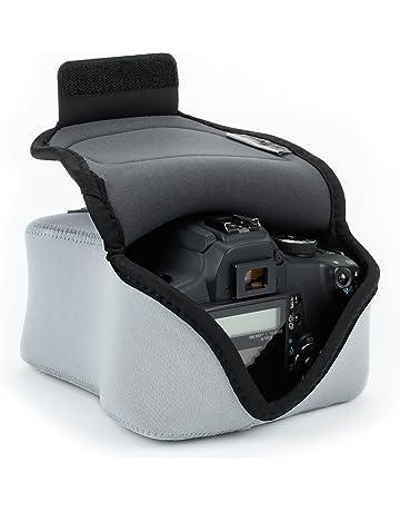 USA Gear Funda de Cámara Digital / Estuche Semipermeable para Cámara Reflex / Bolsa Protectora DSLR