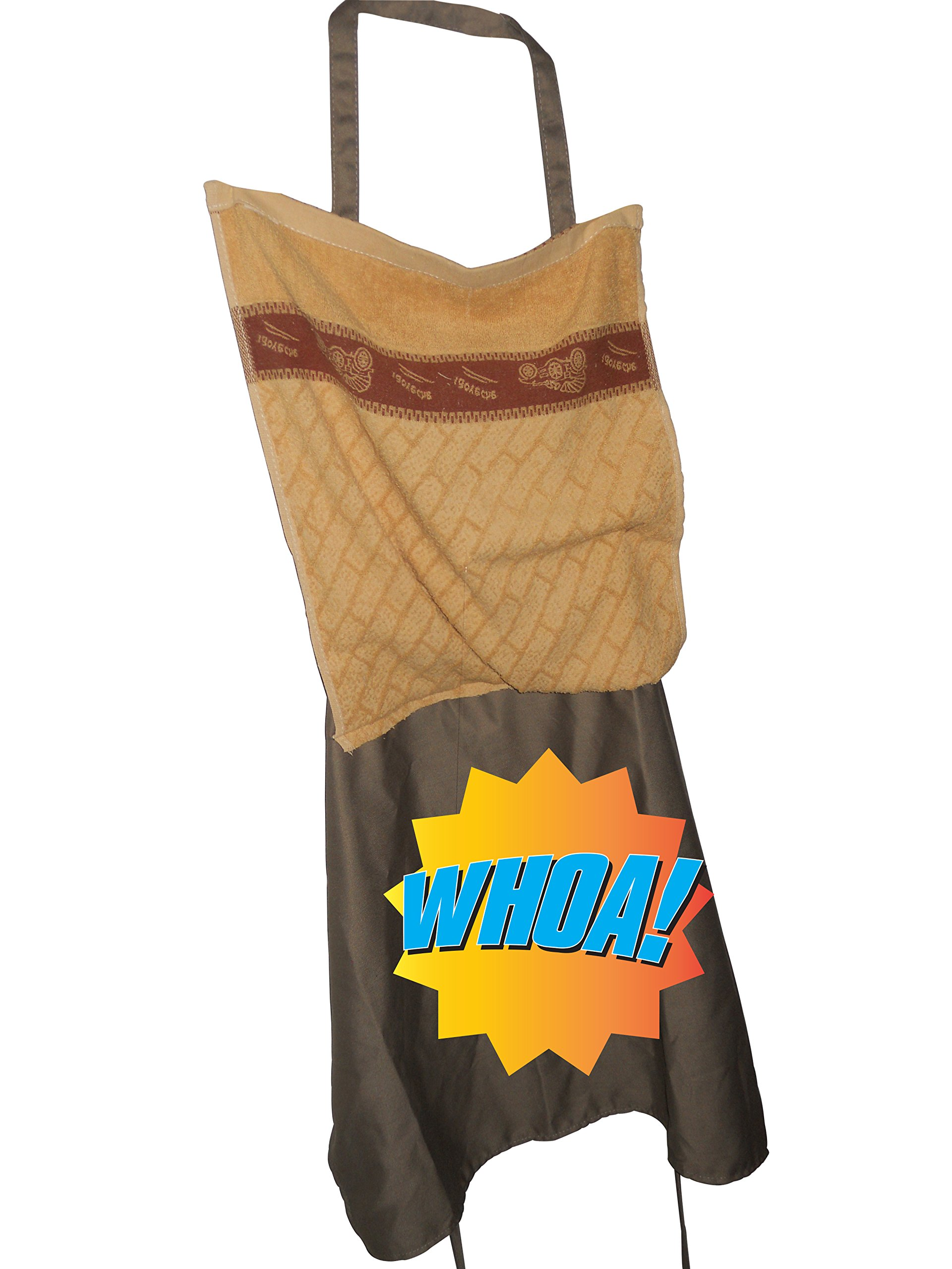 PRANK APRON CO Sexy Funny Novelty Gag Gift Prank Costume Naked Penis Apron Cooking Bbq Party by PRANK APRON CO