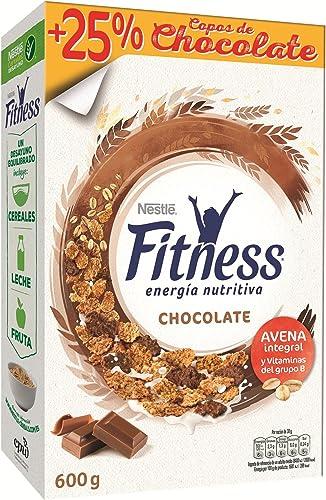 Cereales Nestlé Fitness con chocolate con leche, copos de trigo ...