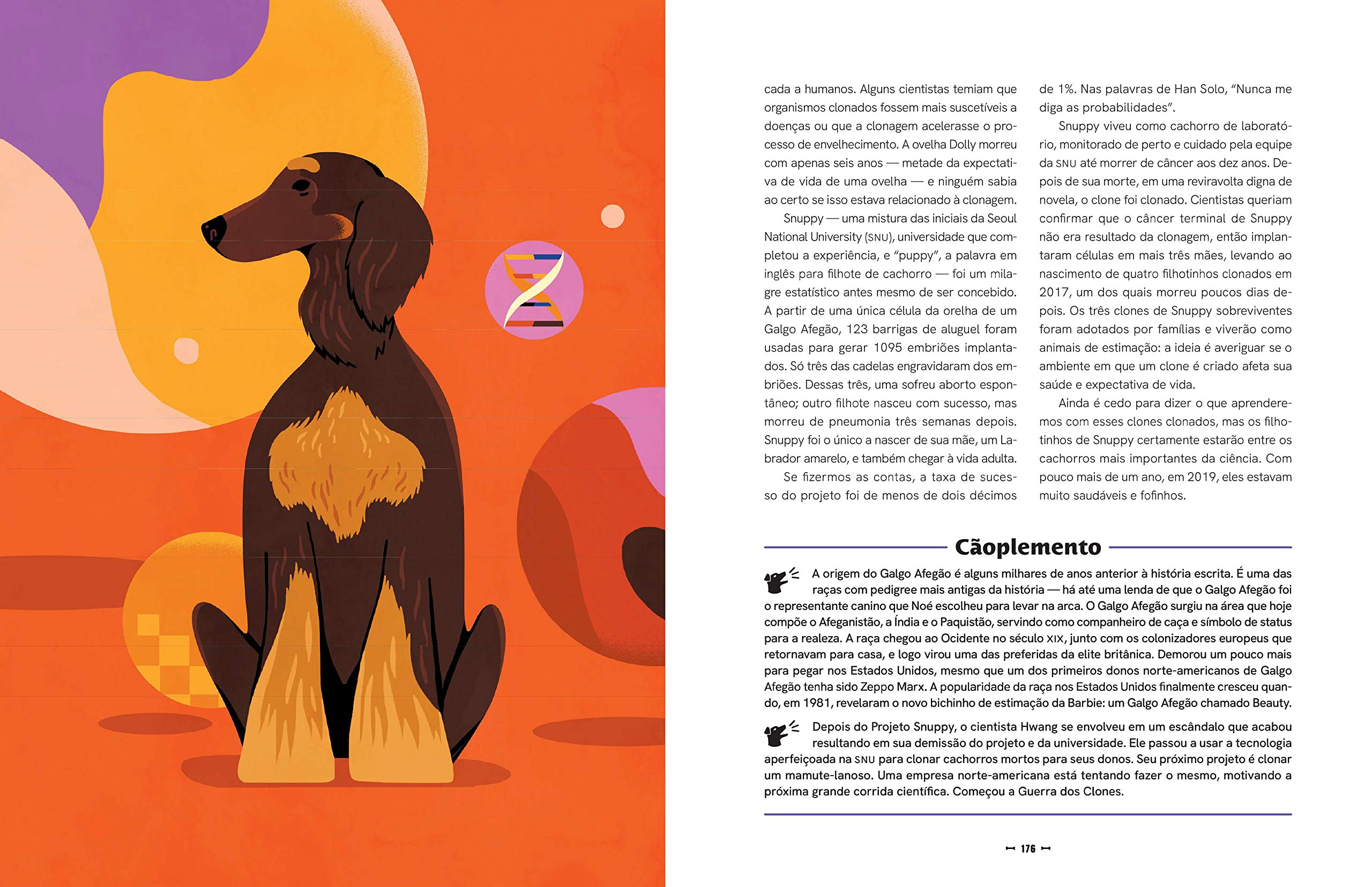 Livro 'A história do mundo em cinquenta cachorros' por Mackenzi Lee