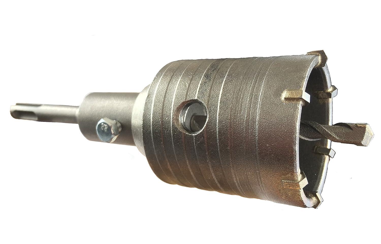SDS Plus Schlagbohrkrone Bohrkrone DM 125 mm f/ür Bohrhammer