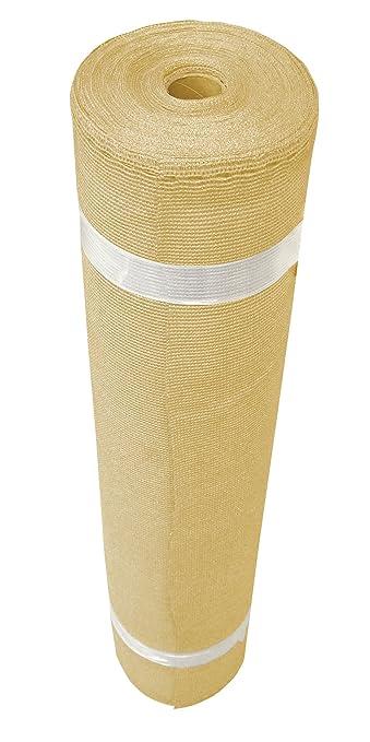 Coolaroo Shade Fabric Extra Heavy 12ft By 50ft Wheat