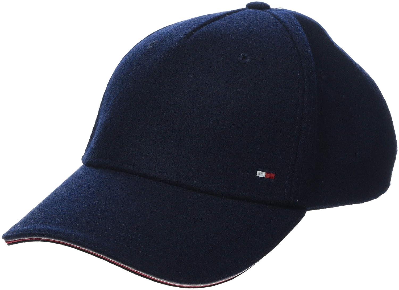 Tommy Hilfiger - Melton Corporate cap Blue AM0AM03996 413 Berretto da Baseball Uomo Blu Navy 413