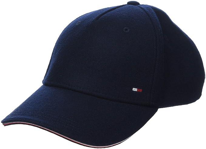 Tommy Hilfiger Melton Corporate Cap Gorra de béisbol, Azul ...