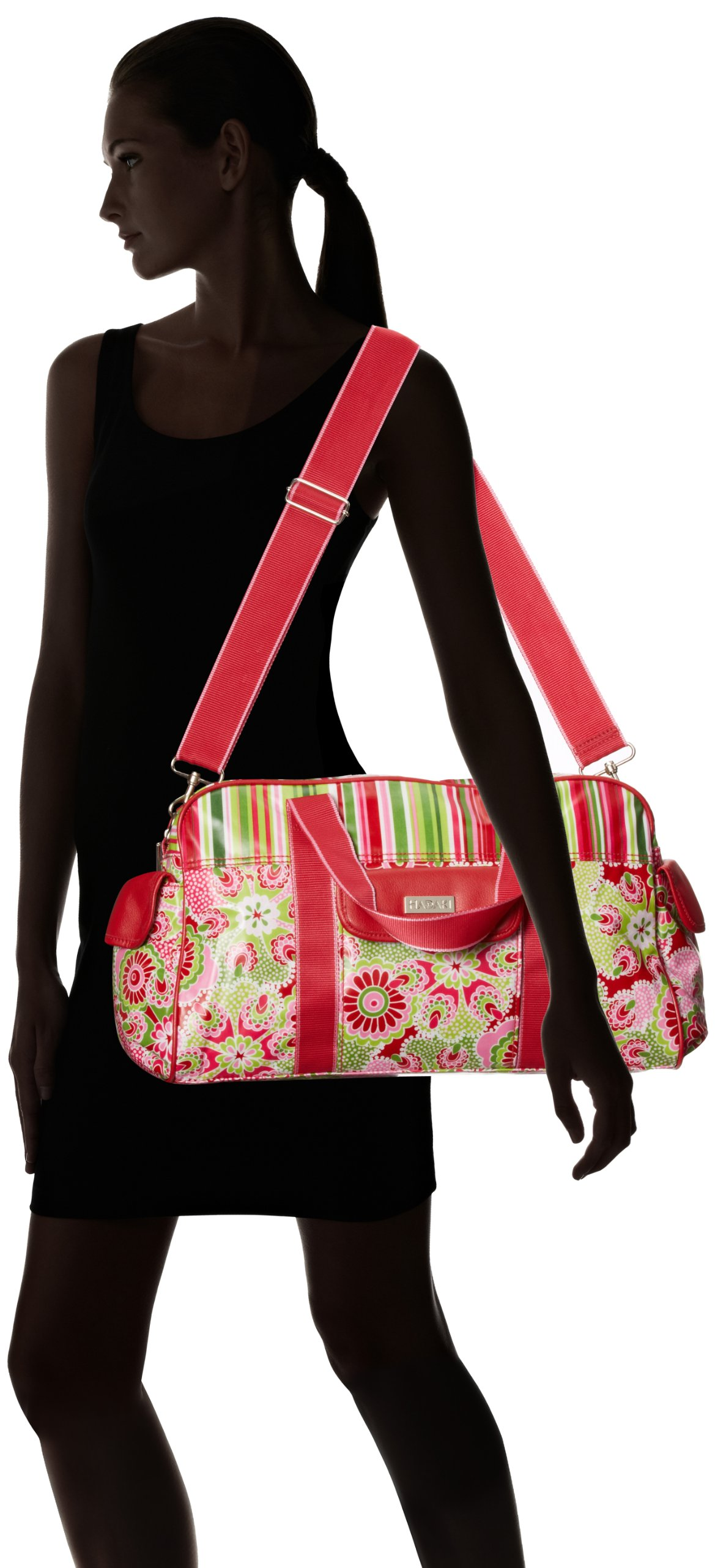 Hadaki Cool HDK826 Duffle Bag,Jazz Ruby,One Size by HADAKI (Image #7)