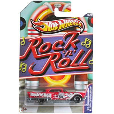 Hot Wheels Jukebox Rock N' Roll '57 Cadillac Eldorado Brougham Red #10/32: Toys & Games