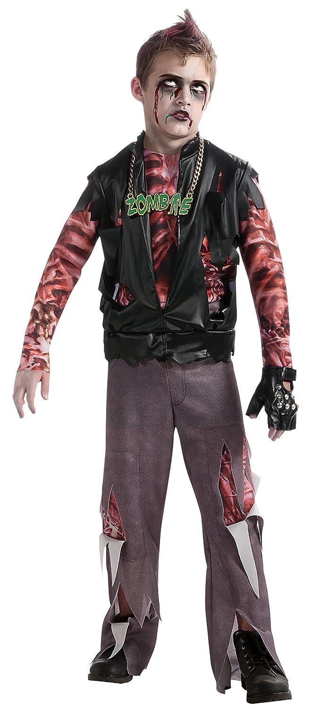 Rubies Costume Co 882834ru Boy - Child Medium 8-10 Zombie Skate Punk Costume