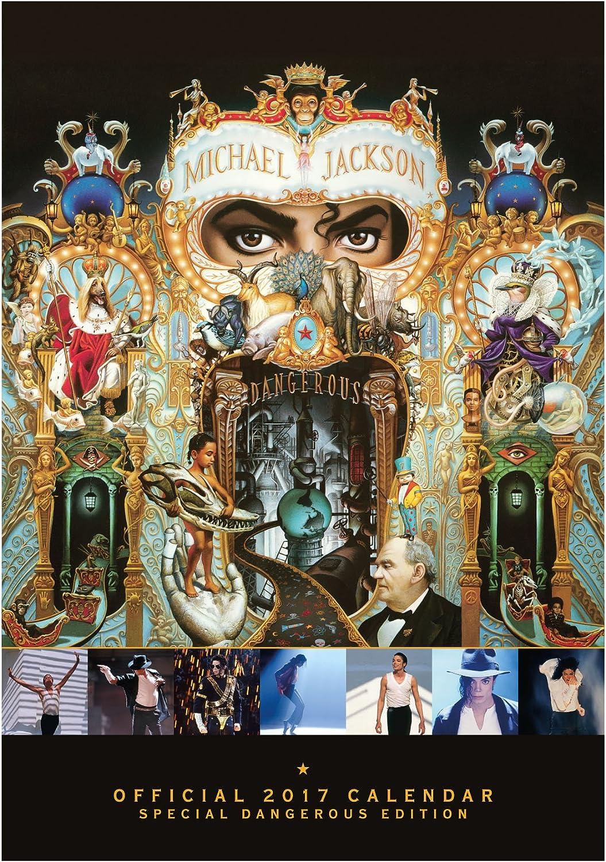 Calendario 2017 29X42 Cm Michael Jackson