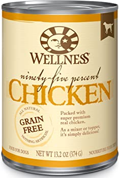 Wellness 95% Natural Wet Grain Free Affordable Dog Food