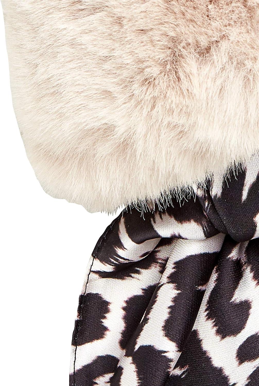 HALLHUBER Fake-Fur-Kragen mit Halstuch
