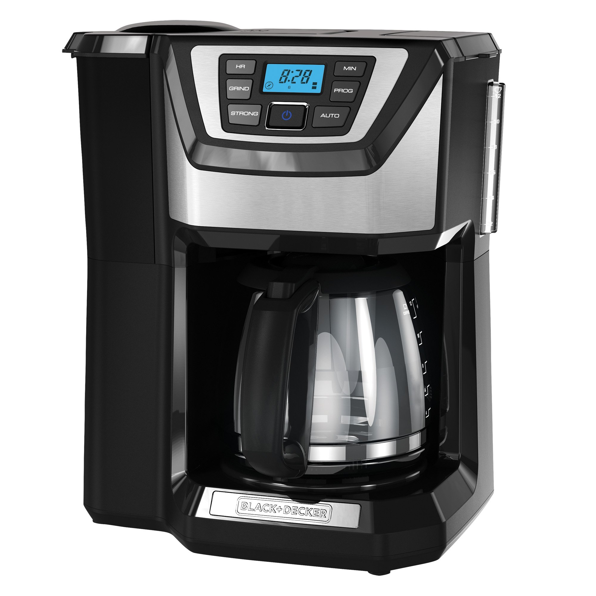 BLACK+DECKER 12-Cup Mill and Brew Coffeemaker, Black, CM5000B by BLACK+DECKER