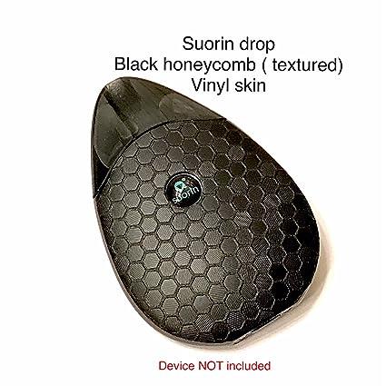 amazon com suorin drop mod skin wrap black honeycomb textured skin