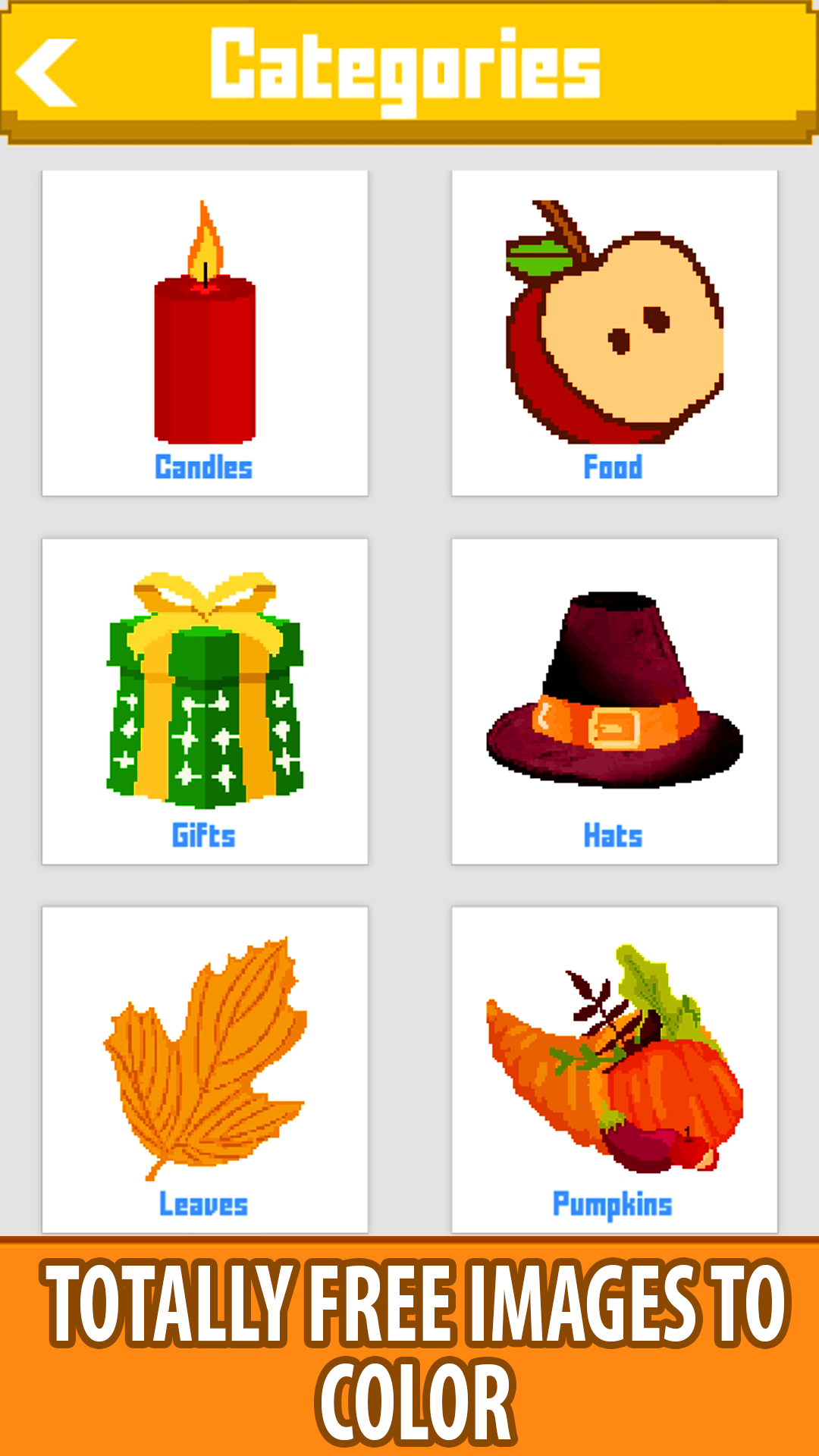 Amazon.com: Thanks Giving Color By Number - Pixel Art ...