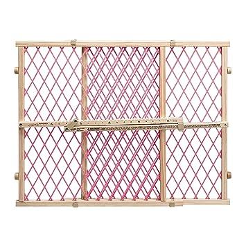 Amazon.com: Puertas de bebé para escaleras Puerta de madera ...