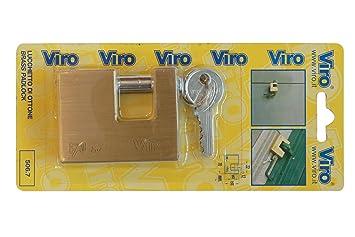 Viro Bl Art. 508.7 Candado Cerradura mm.60 Unidades de 6pz
