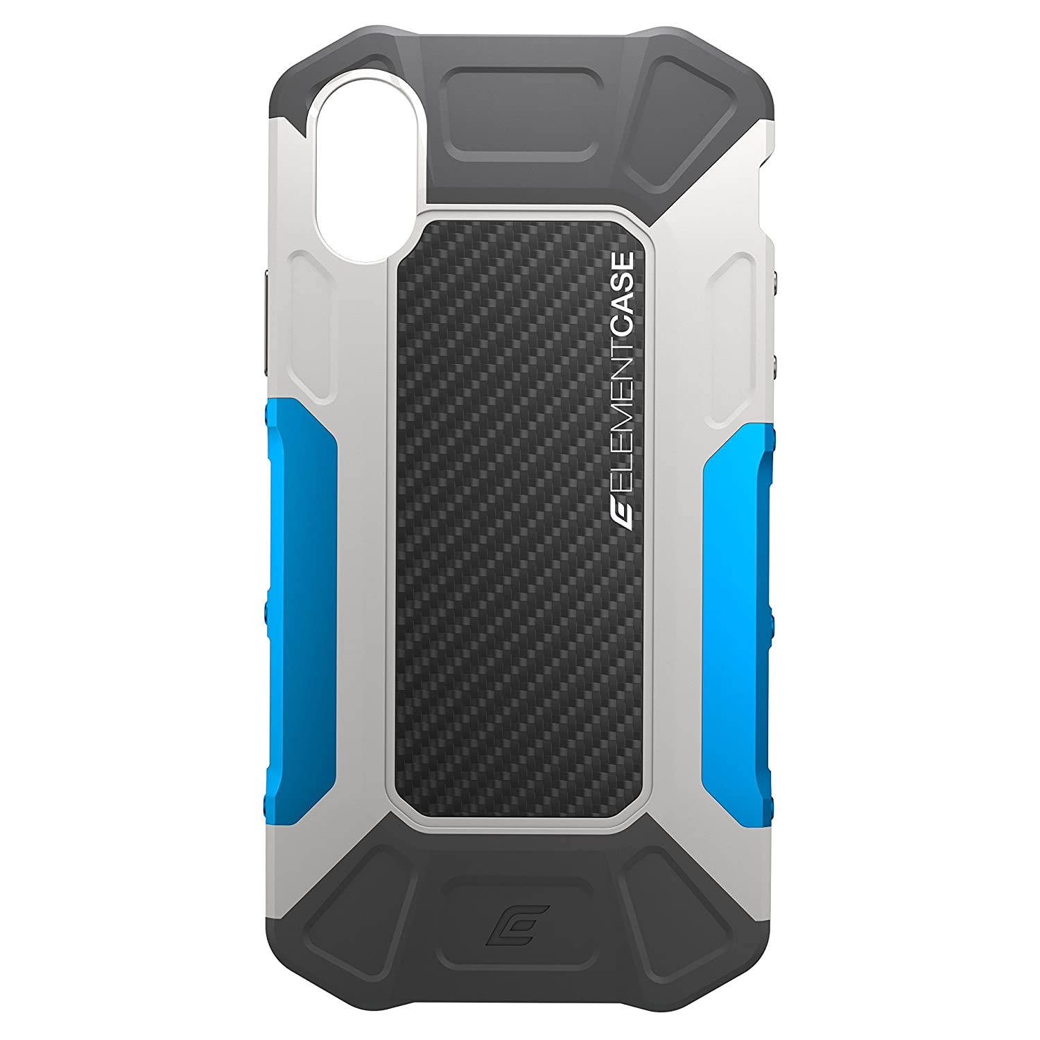 e6fd06689ae7d5 Amazon.com  Element Case EMT-322-175EY-02 Formula Drop Tested Case for  iPhone X XS - Grey Blue  Cell Phones   Accessories