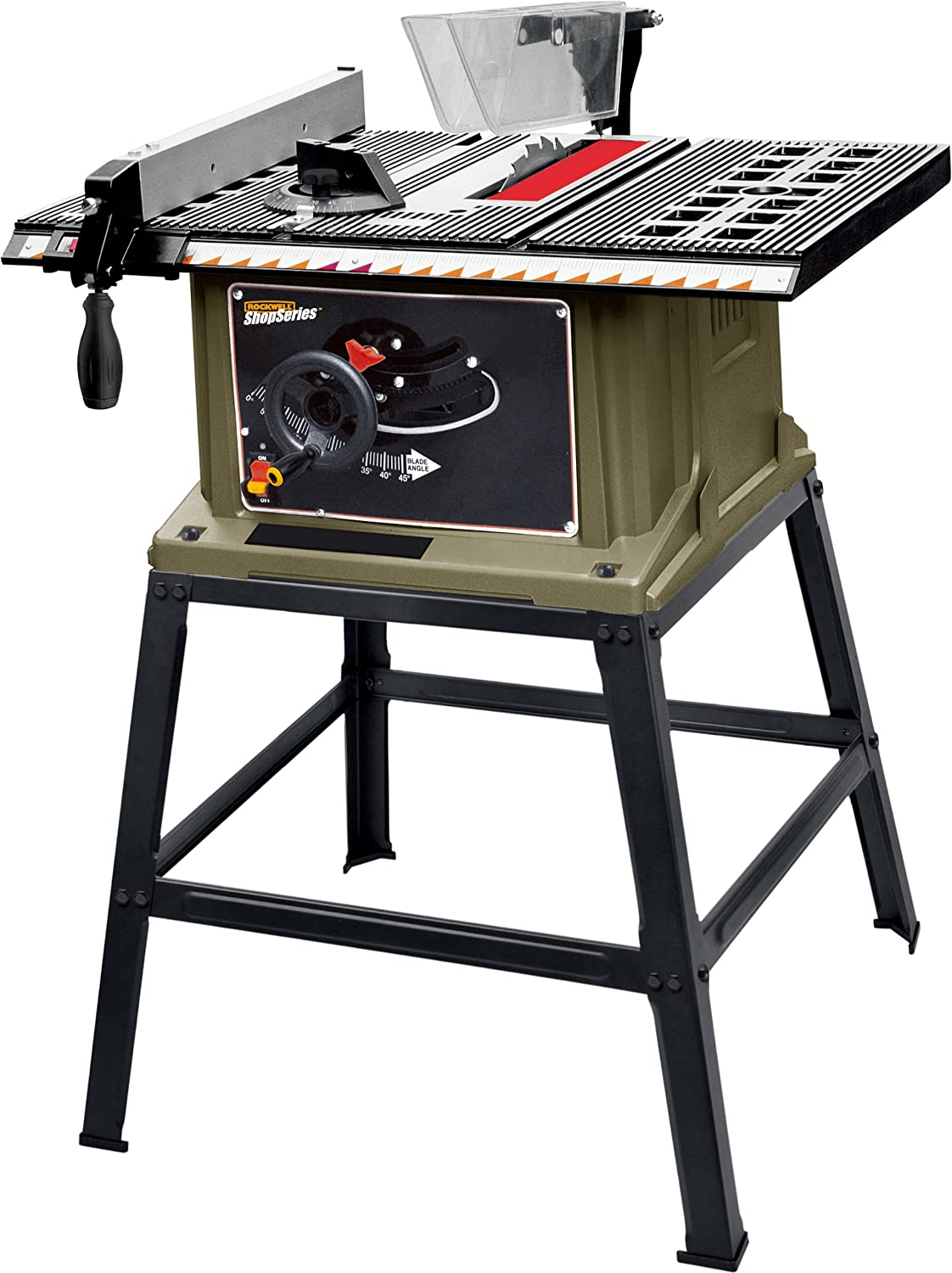Shopseries rk72401 13 amp 10 table saw with stand power table shopseries rk72401 13 amp 10 table saw with stand power table saws amazon greentooth Choice Image