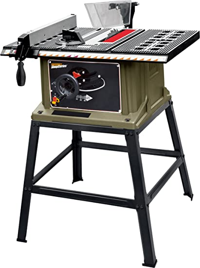 Shopseries rk72401 13 amp 10 table saw with stand power table shopseries rk72401 13 amp 10quot table saw with stand greentooth Images